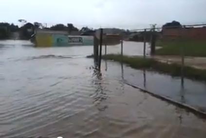 chuva São José dos Quatro Marcos